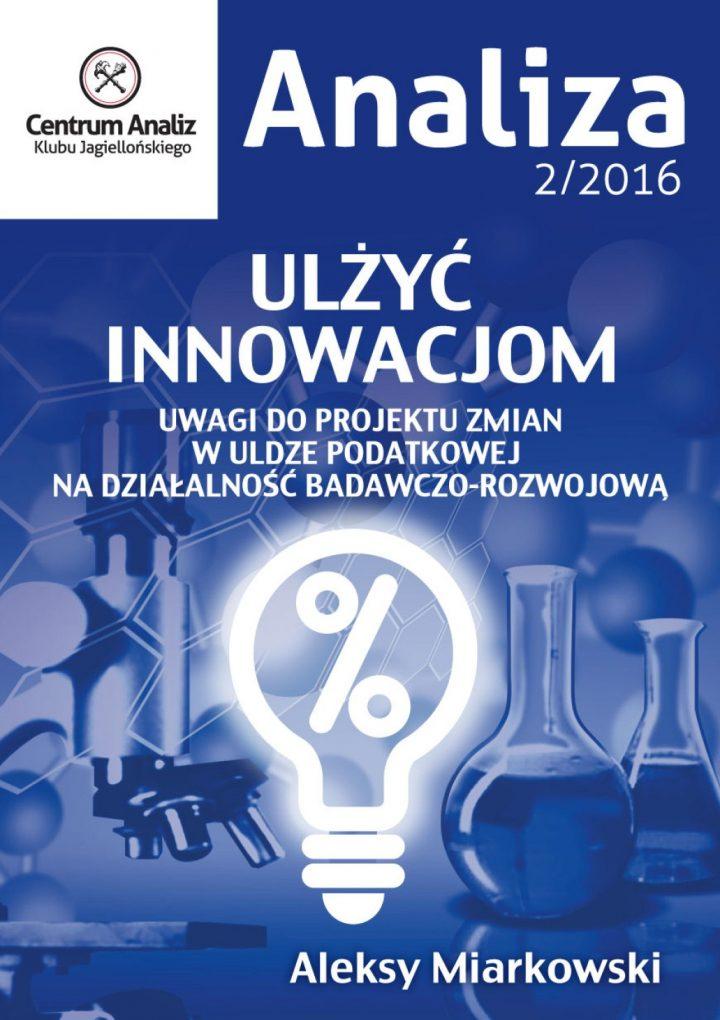 Ulżyć innowacjom. Analiza CA KJ