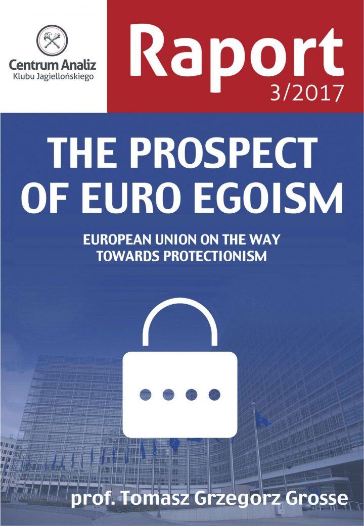 The prospect of euro egoism [EN]