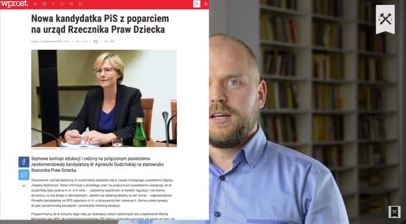 O fake newsach w Sejmie, Ordo Iuris, Dudzińskiej i… przyszłości PiSu [VIDEO]
