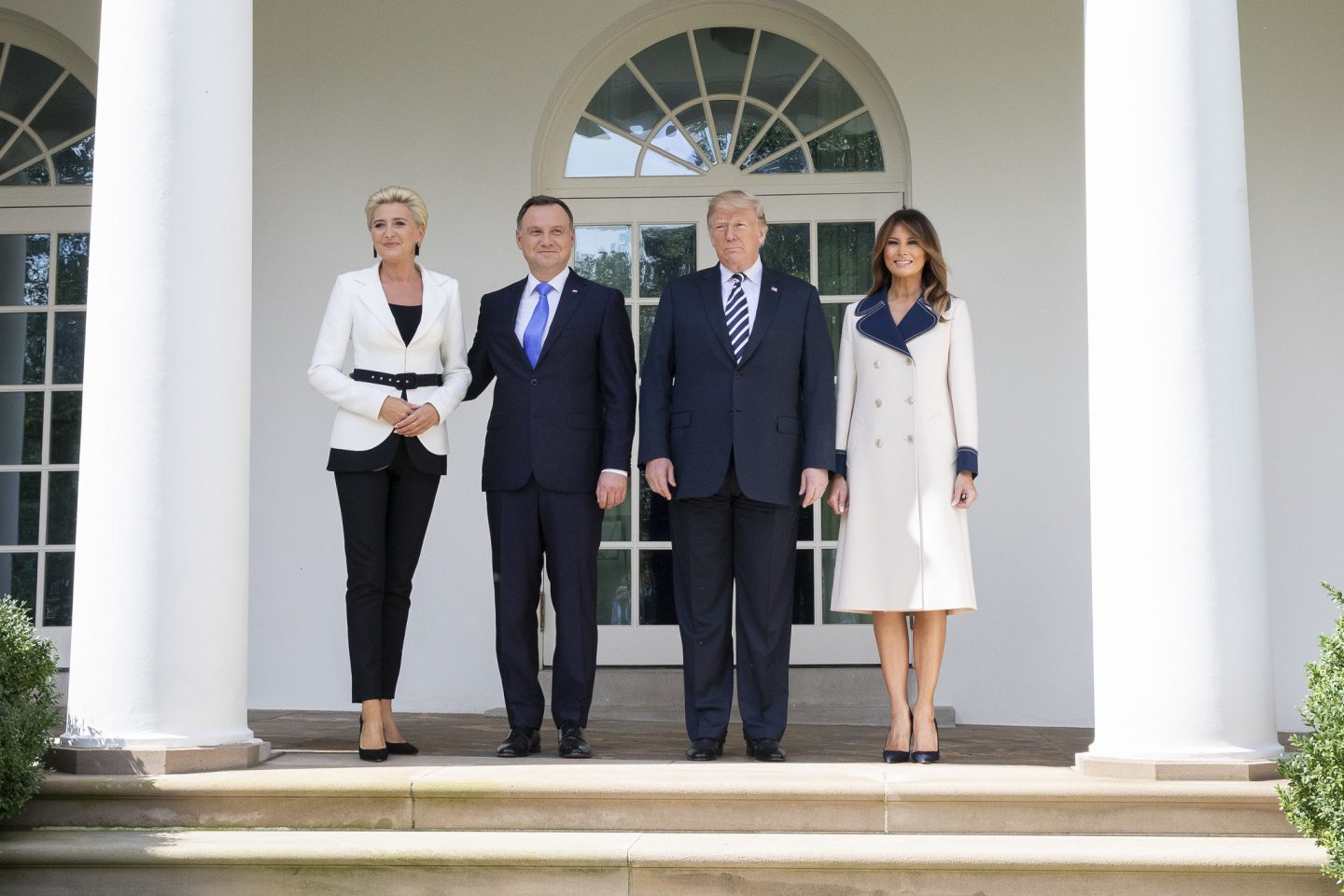 Historic deal? Polish President Duda in Washington