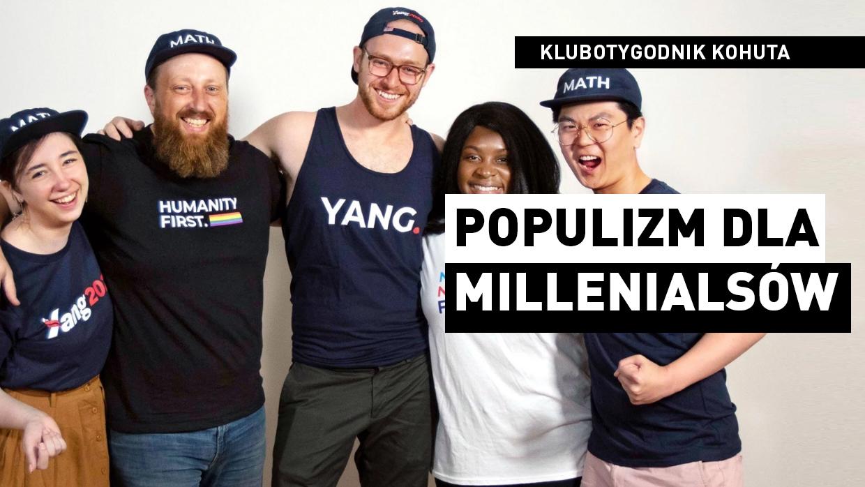 Andrew Yang – najdziwniejszy kandydat amerykańskich prawyborów [VIDEO]