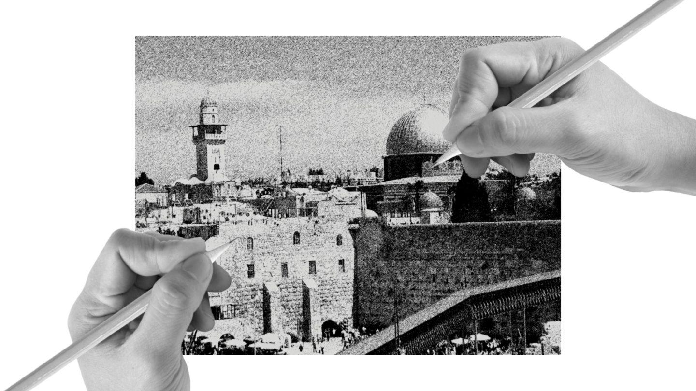 Szkicowanie Nowego Jeruzalem