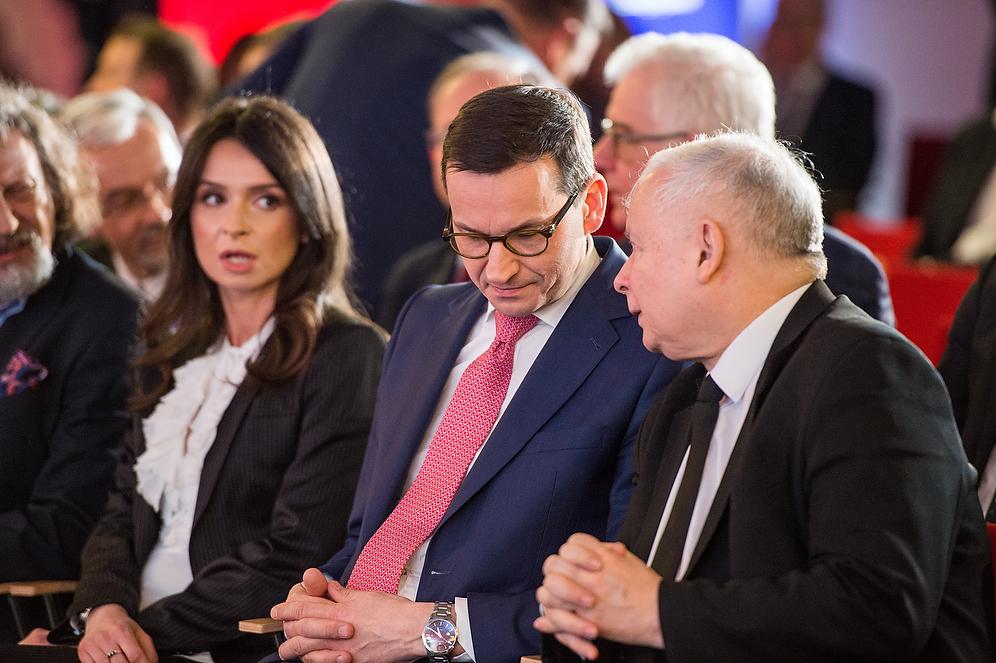 Kaczyński ostro gra o kształt politycznego dziedzictwa