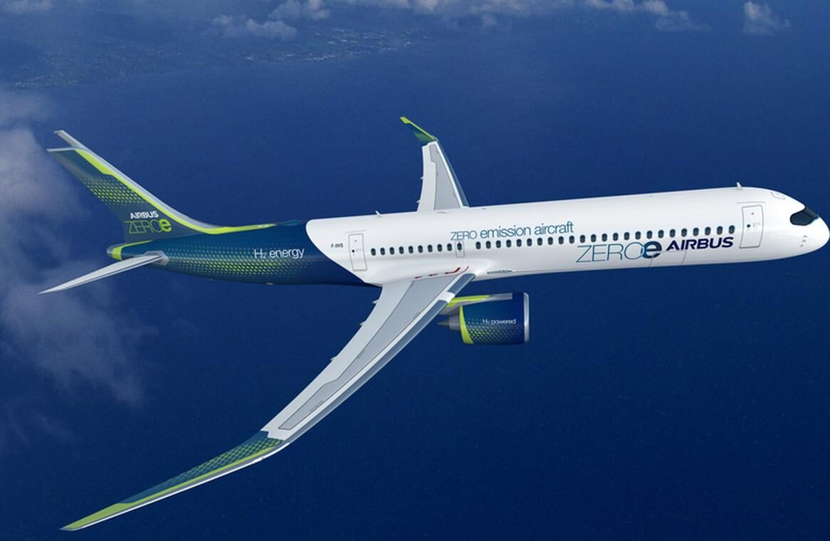 UE nałoży podatek na paliwa lotnicze. W odpowiedzi Airbus zapowiada bezemisyjny samolot wodorowy do 2035 r.